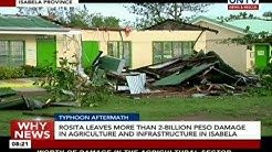 Typhoon Rosita leaves more than 2-billion-peso damage in agriculture and infrastructure in Isabela