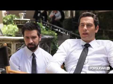 Chuck Exclusive: Zachary Levi and Joshua Gomez Tal...