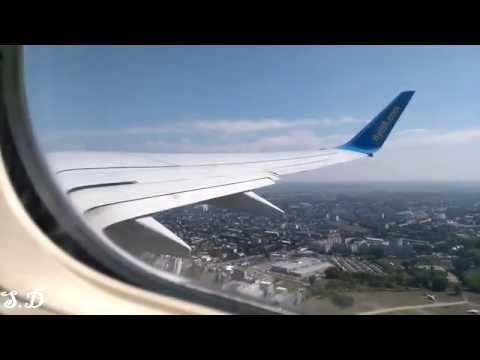 Рейс PS 515. Киев, Борисполь, Украина (KBP) - Тбилиси, Грузия (TBS). Очень Красиво!