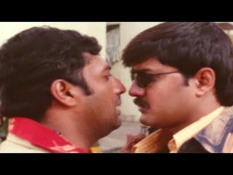 Khadgam Movie || Srikanth & Ravi Teja Funny Action Scene || Ravi Teja, Srikanth, Sonali Bendre