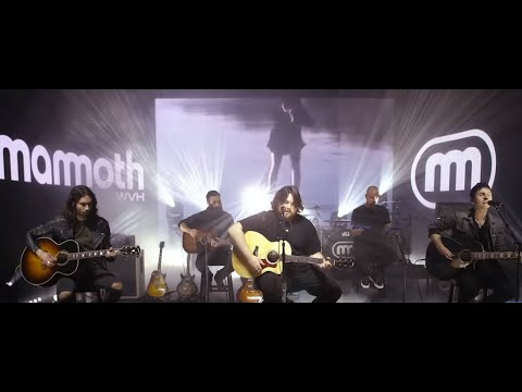 """Mammoth WVH feat. Wolfgang Van Halen performed """"Distance"""" acoustically on the Today show"""