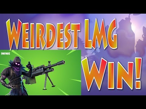 Super Weird LMG Ending!! | 2000 V-Bucks Giveaway | Fortnite LMG Update | Solo Win Fortnite Live