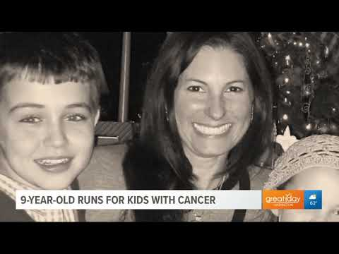 AJ - #GoodNews: 9 Year-Old's Running Generates $65k For Kids With Cancer