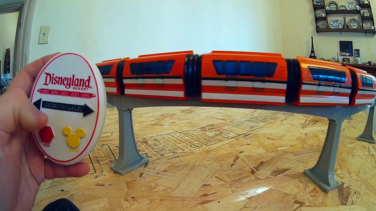 Disney Monorail Train Set