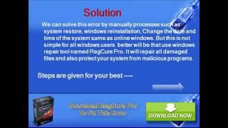 Easily fix windows update error 0x80070003