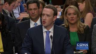 Word for Word: Senators Question Facebook CEO Mark Zuckerberg on Privacy Rights (C-SPAN)