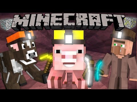 If Mobs Could Mine - Minecraft