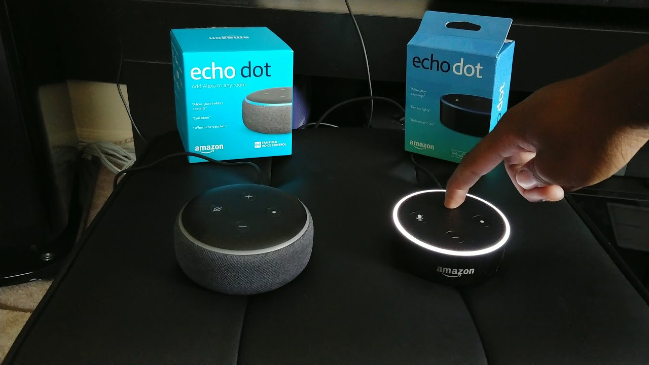 difference between echo dot 2nd and 3rd generation