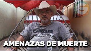 Hipólito Mora :Amenazas de Muerte del crimen organizado #Michoacán