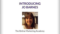 Online Marketing Academy with Jo Barnes