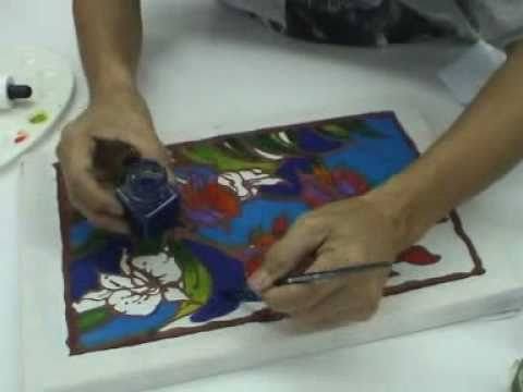 How To Do Batik Painting With Quick Wax Kit