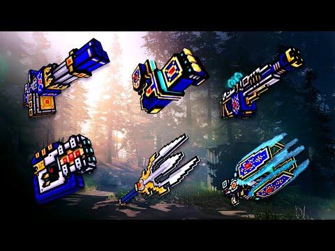 Pixel Gun 3D - Clan Siege Battle (Mythical Clan Weapons)