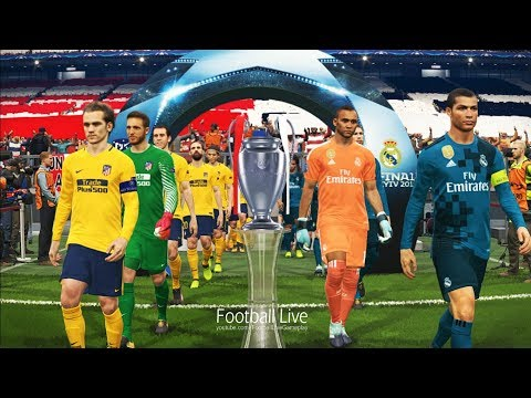 PES 2018 | Final UEFA Champions League (UCL) | Real Madrid vs Atletico Madrid | Penalty Shootout