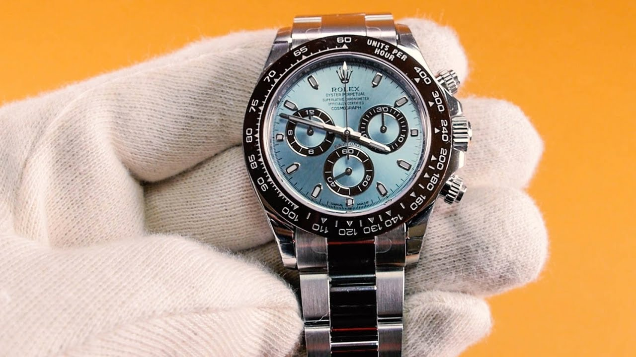 b514f38f75e Rolex Daytona, Model 116506 [Platinum] - Unboxing. Iconic Watches
