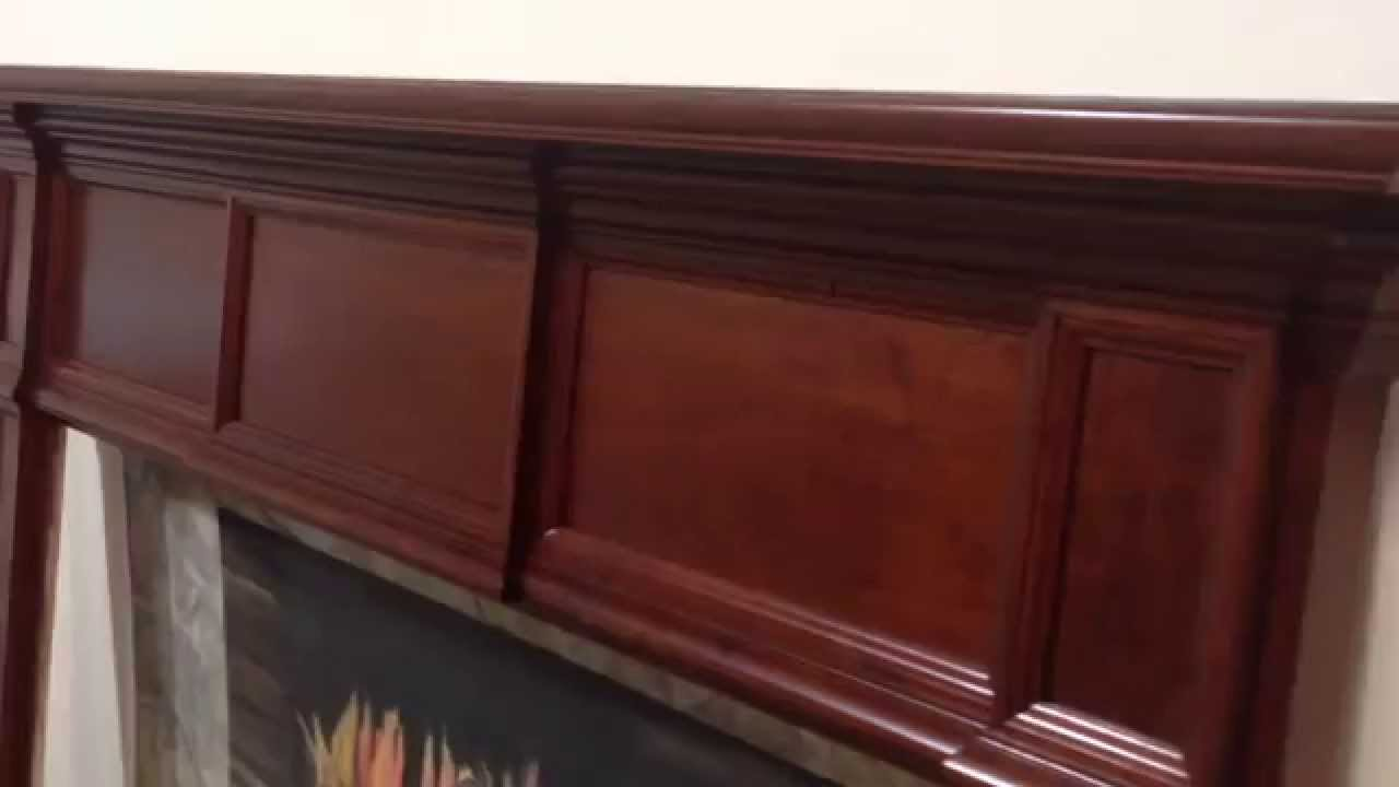 Austin Mantel In Cherry With Dark Rich Cherry Stain