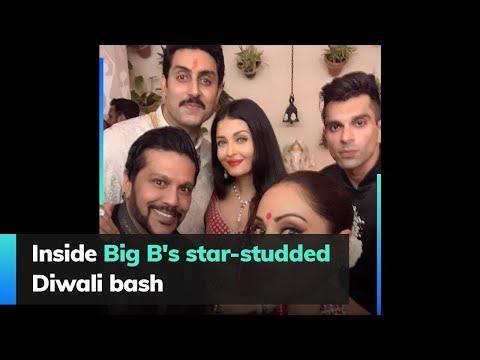 Inside Big B's star-studded Diwali bash Mp3