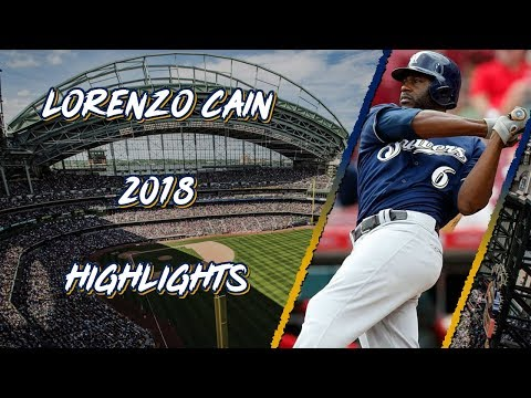 Lorenzo Cain 2018 Highlights