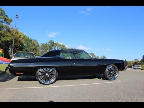 WhipAddict 73 Chevy Impala Donk On Asanti AF136 26s In