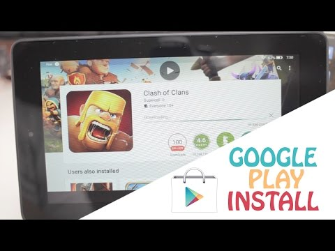 Amazon Fire Tablet - Google Play Store without root (Fast & Easy)