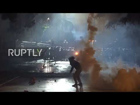 Albania: Clashes erupt in Tirana as anti-government protests continue