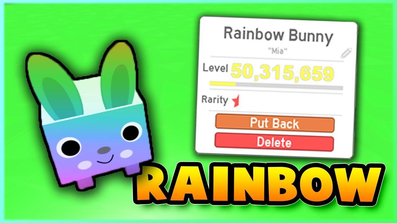 Making Noob Pets Into RAINBOW Pets! Pet Simulator