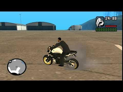 Corte de giro moto mta
