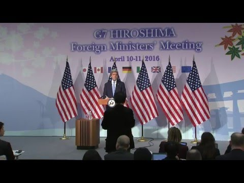 Secretary Kerry Delivers Remarks in Hiroshima, Japan