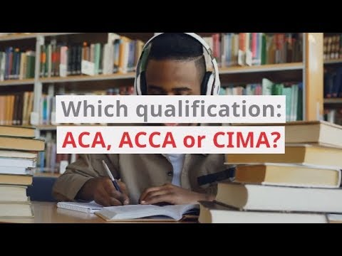 ACA, ACCA or CIMA - Which One? | Morgan McKinley Recruitment