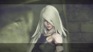 """Nier: Automata Route A - The Forest Kingdom: """"Is This Their King?"""" A2 Kills Baby Machine Cutscene"""
