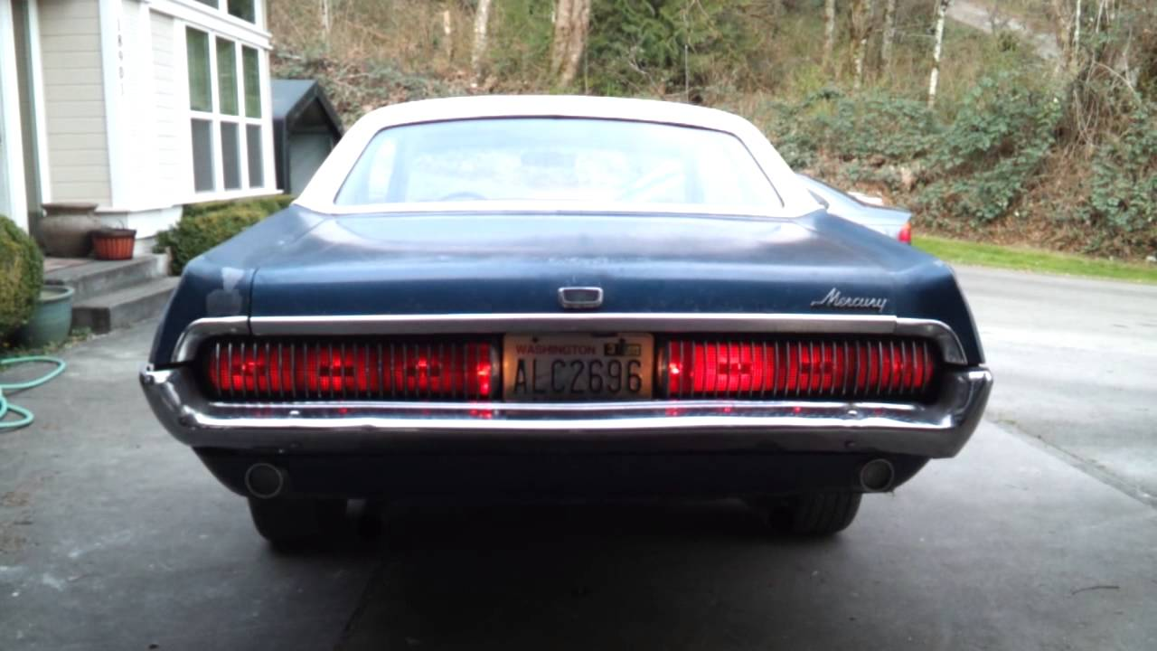 Cougar Tail Lights Youtube