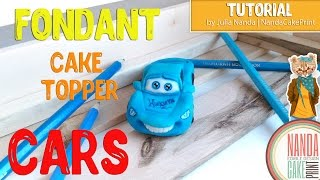 How To Making a Fondant Cars Like Lightning McQueen From Disneys Cars Tutorial