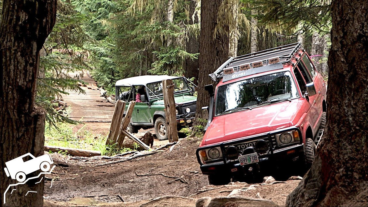 Overland Trip on Washington's Naches Wagon Trail - Off Road Adventure