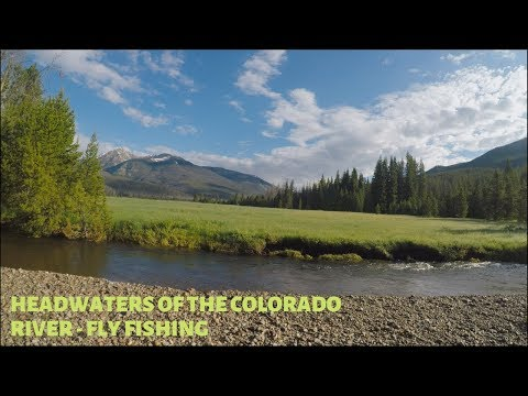 Headwaters Of The Colorado River - RMNP - Fly Fishing - July 2019