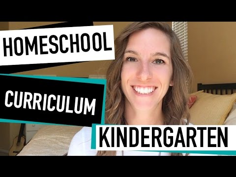Kindergarten Homeschool Curriculum \u2014 Our Homeschool Curriculum