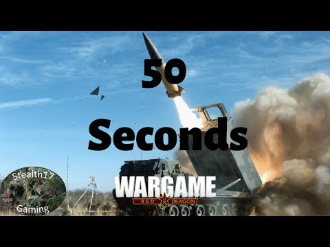 Wargame Red Dragon - 50 Seconds