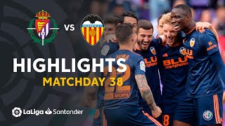 Highlights Real Valladolid vs Valencia CF (0-2)