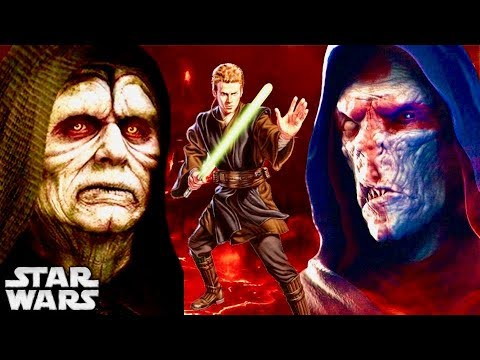 Why Darth Plagueis Was Terrified of Anakin But Sidious Embraced and Trained Him