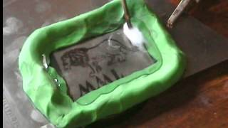 Electrograbado de metales