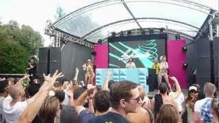 DJ La Fuente & Sakso Live @ Summerfestival 2012 Belgium