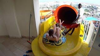 Space Boat Water Slide at Makadi Bay Water World
