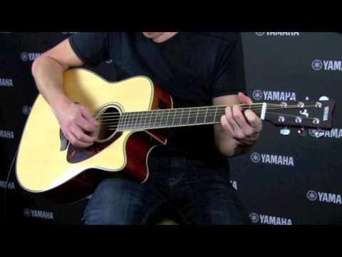 Yamaha FGX720SC Electric Acoustic Guitar