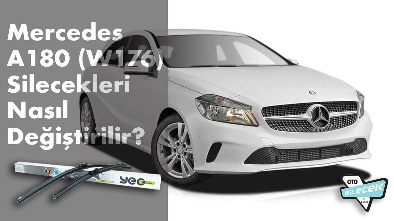 Mercedes A180 Silecek Değişimi  #otosilecek