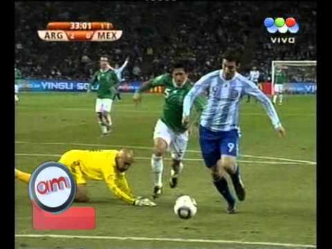 Goles de Argentina en Suda?frica 2010 - AM