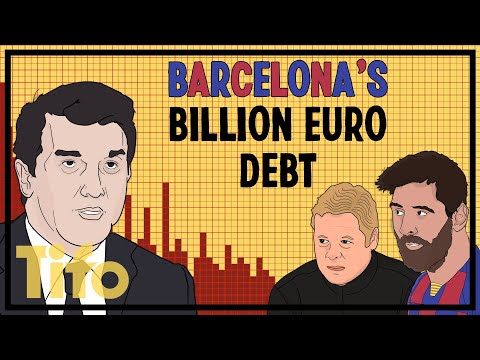 Barcelona's $1.3bn debt