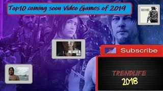 Top10 Coming Soon Video Games Of 2019 HD Deutsch