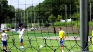Chelsea Training (hazard, Cahill). Summer 2015, Montreal