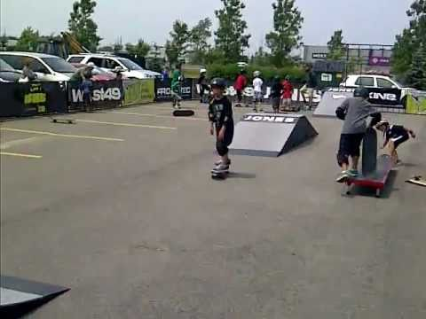 Anthony at West 49 Skateboard Clinic