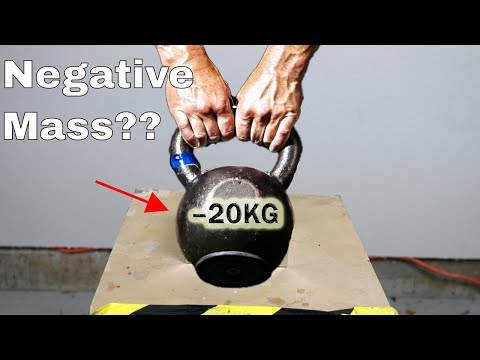 What if You Try To Lift a Negative Mass? Mind-Blowing Physic