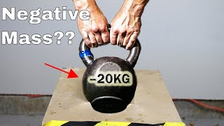 What if You Try To Lift a Negative Mass? Mind-Blowing Physical Impossibility! thumbnail