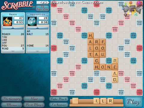 Scrabble Gameplay Trailer - Download Free Games